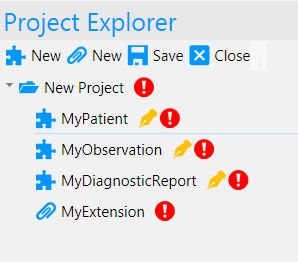 Forge - Project Explorer